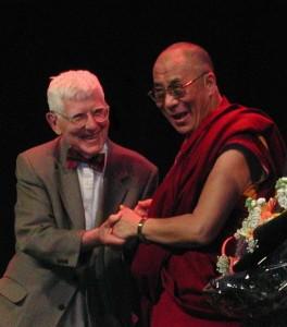 Dr. Aaron Beck and the Dalai Lama